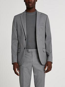 river-island-grey-skinny-twill-suit-jkt