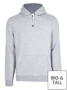 river-island-big-amp-tallnbspri-script-hoodie-grey