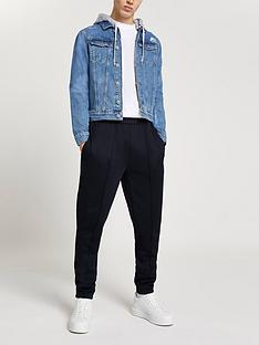 river-island-classic-hooded-denim-jacket-blue
