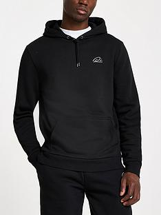 river-island-ri-slim-fit-hoodie-black