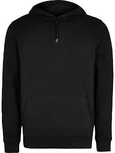 river-island-basic-hoodie-black