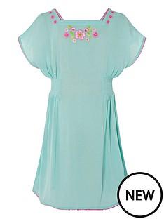 monsoon-girls-sew-embroidered-kaftan-dress-turquoise