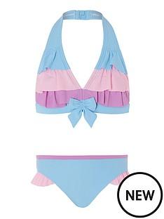 monsoon-girls-colour-block-triangle-bikini-blue