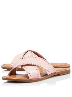 dune-london-lindsy-flat-sandal-blush