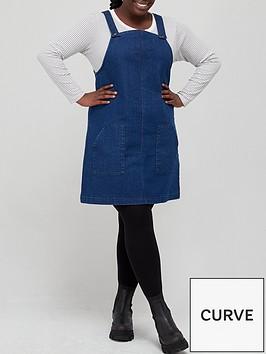 v-by-very-curve-denim-pinafore-dress-indigo