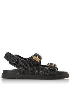 dune-london-lockstockk-flat-sandal-black