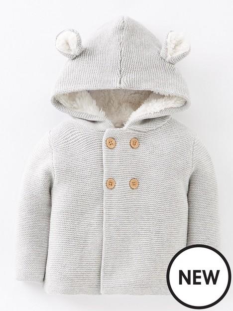 mini-v-by-very-baby-unisexnbspknitted-cardigan-greynbsp