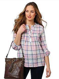 joe-browns-cheeky-check-blouse