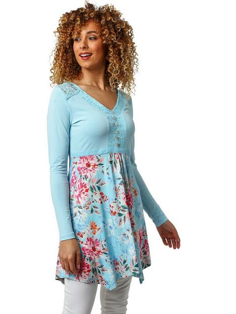 joe-browns-lace-sleeve-tunic-blue