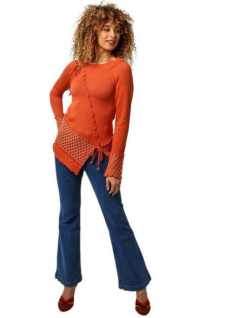 joe-browns-individual-jumper-orange