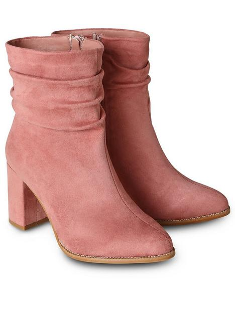 joe-browns-around-town-ankle-boots-pink
