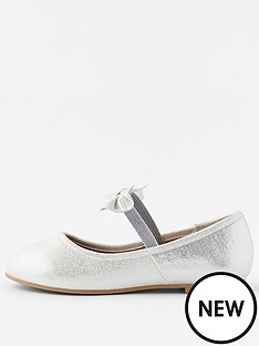 accessorize-girls-bow-ballerina-shoes-silver