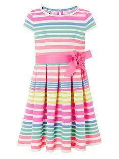 monsoon-girls-stripe-ponte-pleat-dress-multi