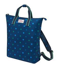 cath-kidston-power-spot-zip-top-backpack-navy