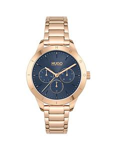 hugo-hugo-friend-blue-dial-and-carnation-gold-bracelet-ladies-watch
