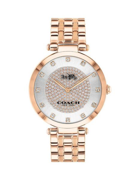 coach-coach-park-rose-gold-plated-stainless-steel-swarovski-crystal-dial-watch
