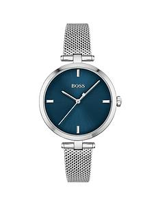 boss-boss-majesty-stainless-steel-mesh-strap-ladies-watch