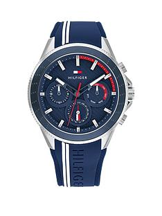 tommy-hilfiger-tommy-hilfiger-stainless-steel-case-blue-dial-and-blue-silicone-strap-watch