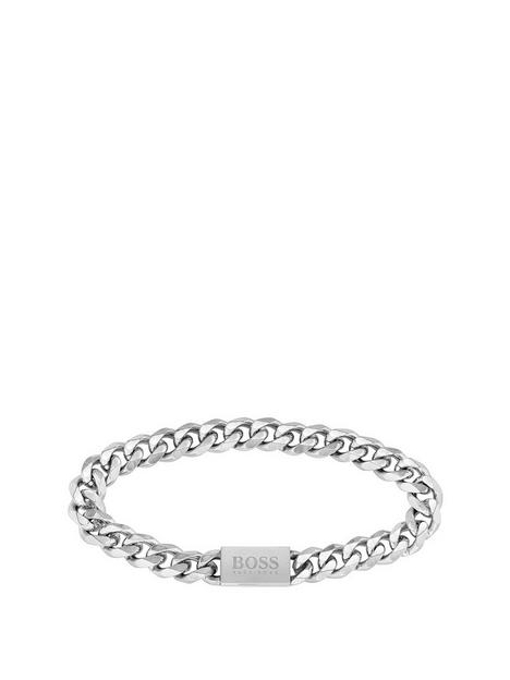 boss-chain-for-him-stainless-steel-gents-bracelet
