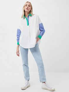 french-connection-french-connection-ceises-colour-block-rhodes-popover-shirt