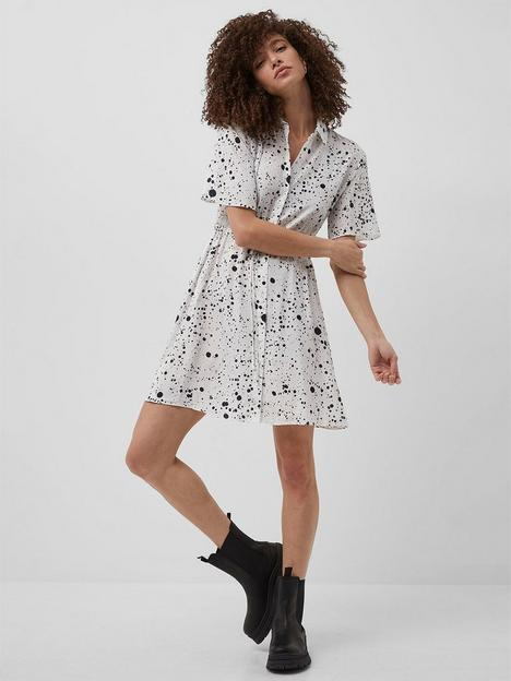 french-connection-french-connection-droplet-drape-shirt-dress