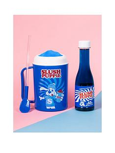 fizz-slush-puppie-making-cup-and-blue-raspberry-syrup