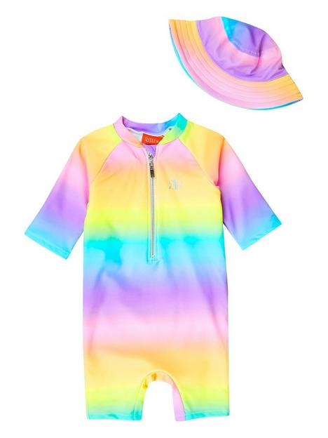 river-island-mini-purple-ombre-swimsuit-and-bucket-hat