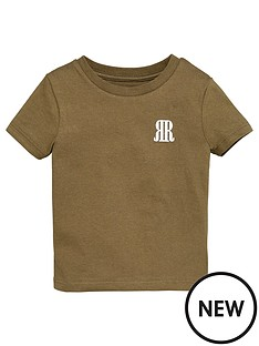 river-island-mini-boys-rvr-t-shirt-khaki