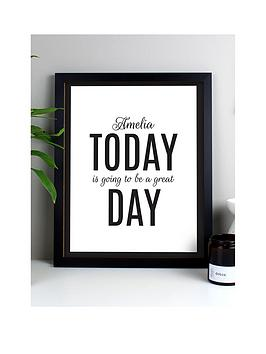 the-personalised-memento-company-personalised-today-is-the-day-framed-print