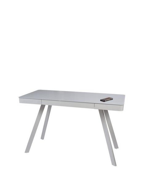 koble-silas-20-desk-with-wireless-charging-speakers-and-bluetooth-connectionnbsp--light-grey