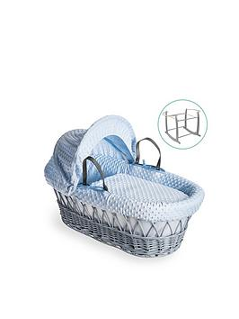 clair-de-lune-dimple-grey-wicker-basket-with-grey-deluxe-stand-blue