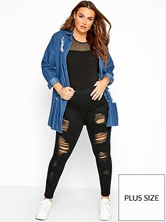 yours-yoursnbspjenny-extreme-distressed-28-jegging-black