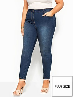 yours-yoursnbsplondon-ava-32-super-stretch-skinny-jeans-indigo