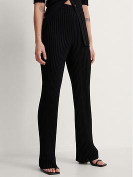 na-kd-nakd-ribbed-knitted-pants
