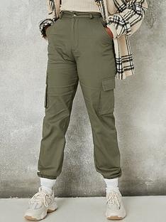 missguided-missguided-plain-cargo-trouser-khakinbsp