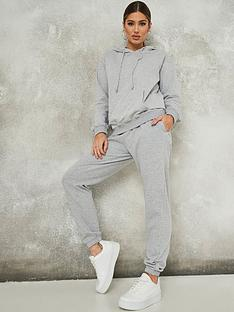 missguided-missguided-coord-hoodie-and-jogger-set-grey