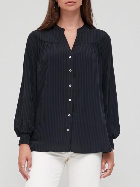 v-by-very-curve-yoke-detail-relaxed-shirt-black