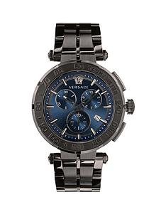 versace-versace-greca-chrono-45-mm-mens-blue-dial-ip-bracelet-watch
