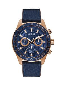 guess-guess-magnitude-blue-dial-chronograph-blue-strap-mens-sport-watch