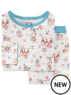 cath-kidston-girls-long-sleeve-ditsy-beatrix-potter-jersey-pyjamas-ivory