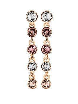 jon-richard-sw-rose-gold-tennis-earring