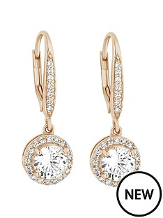 simply-silver-simply-silver-sterling-silver-925-12ct-yellow-gold-cubic-zirconia-clara-drop-earring