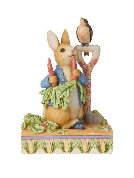 peter-rabbit-in-the-garden-figurine