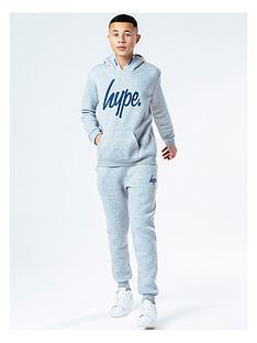 hype-boys-logo-overheadnbsphoodie-and-joggers-set-grey-marl