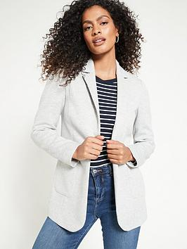 v-by-very-jersey-single-breasted-blazer-grey