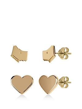radley-radley-love-heart-2-x-dog-heart-earring-studs