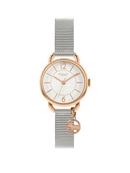 radley-radley-white-dial-rose-tone-bezel-dog-charm-bracelet-watch
