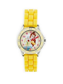 disney-princess-belle-yellow-kids-watch