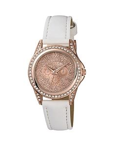 tikkers-tikkers-rose-sparkly-dial-white-strap-kids-watch