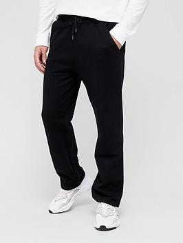 very-man-loose-jogger-with-open-hem-black